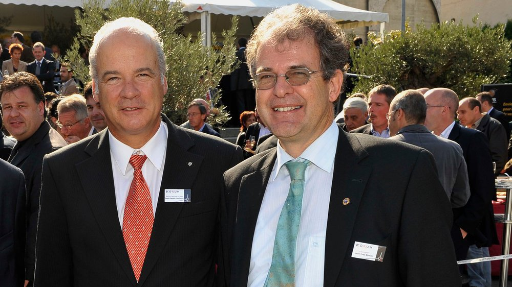 Deux acteurs du dossier Alkopharma - BCVs: Jean-Daniel Papilloud et Jean-Yves Bonvin.