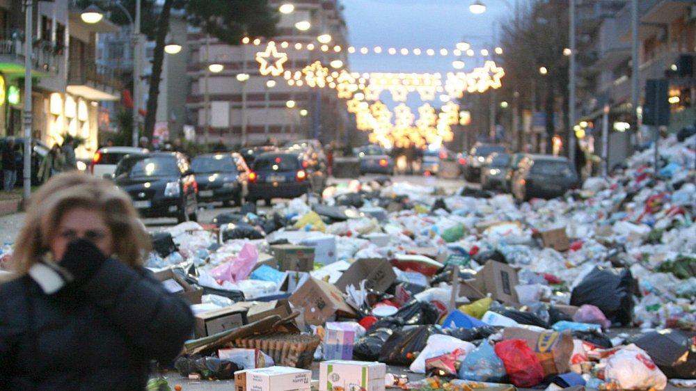 Nouvelle crise  des déchets à Rome