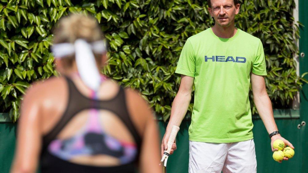 Dimitri Zavialoff avait permis à Timea Bacsinszky de se hisser deux fois en demi-finale de Roland-Garros.