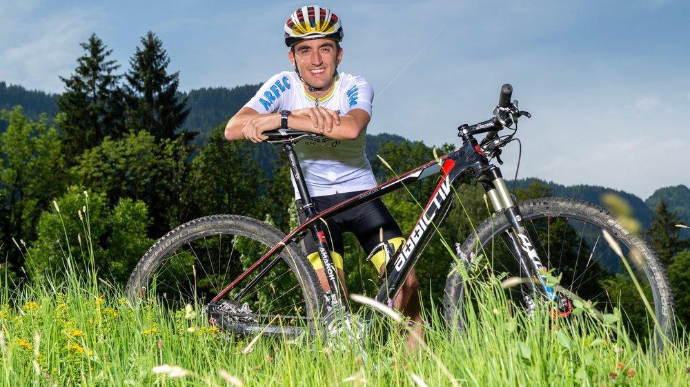 Alexandre Bochatay avalera quelque 25 000 km de dénivelé en neuf jours. Mais il est bien préparé.