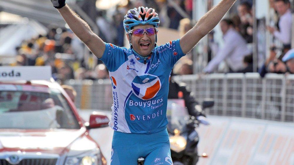 Johann Tschopp a remporté l'étape reine du Giro en 2010 devant Cadel Evans.
