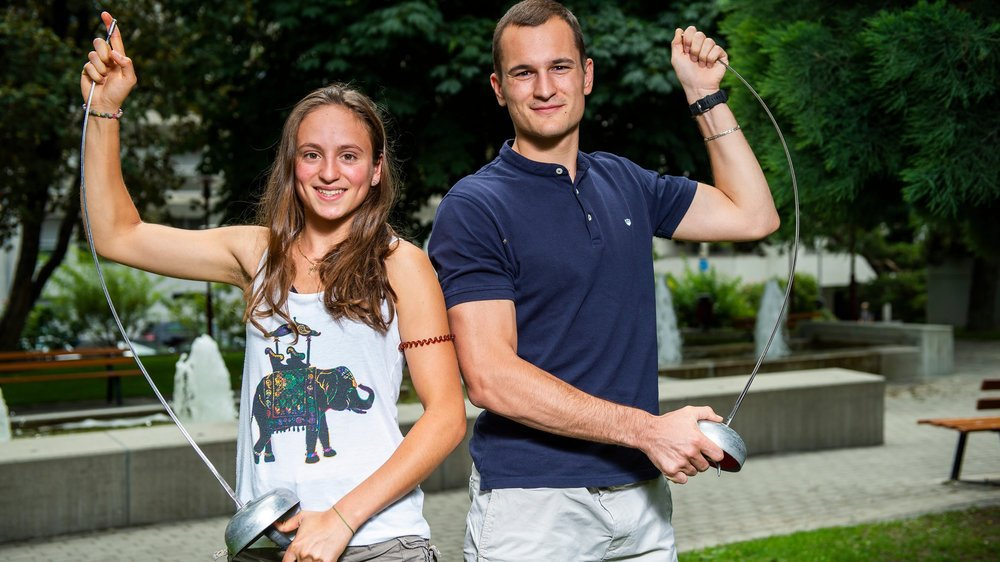 Angeline Favre et Lucas Malcotti n'auront pas les mêmes attentes à Budapest.