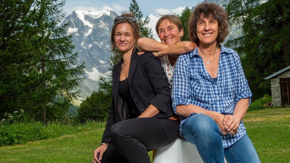Claude Bernhard, Sylvie Domenjoud et Catherine Destivelle côtoient toutes, de près ou de loin, le monde des hauteurs, historiquement très masculin.