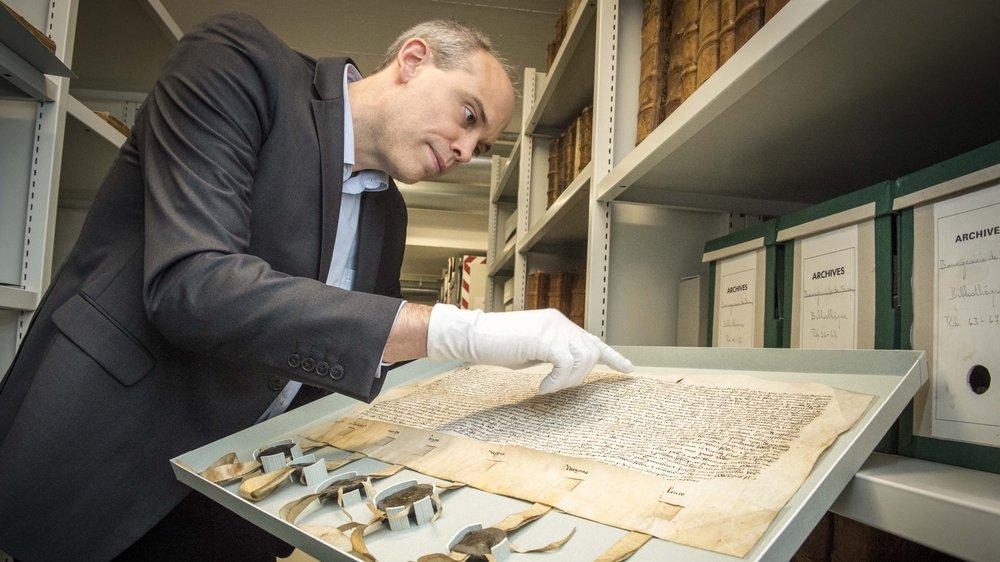 L'archiviste cantonal Alain Dubois nous détaille les contours de la Time Machine Valais.