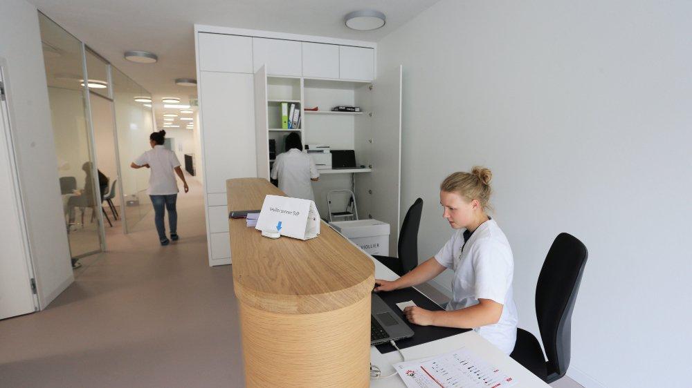 Le nouveau centre médical de Vissoie a ouvert ses portes le 8 juillet dernier.