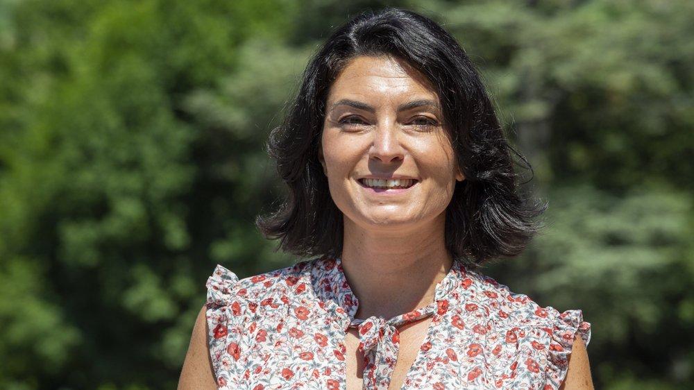 Sophia Dini, déléguée au campus EPFL Valais.