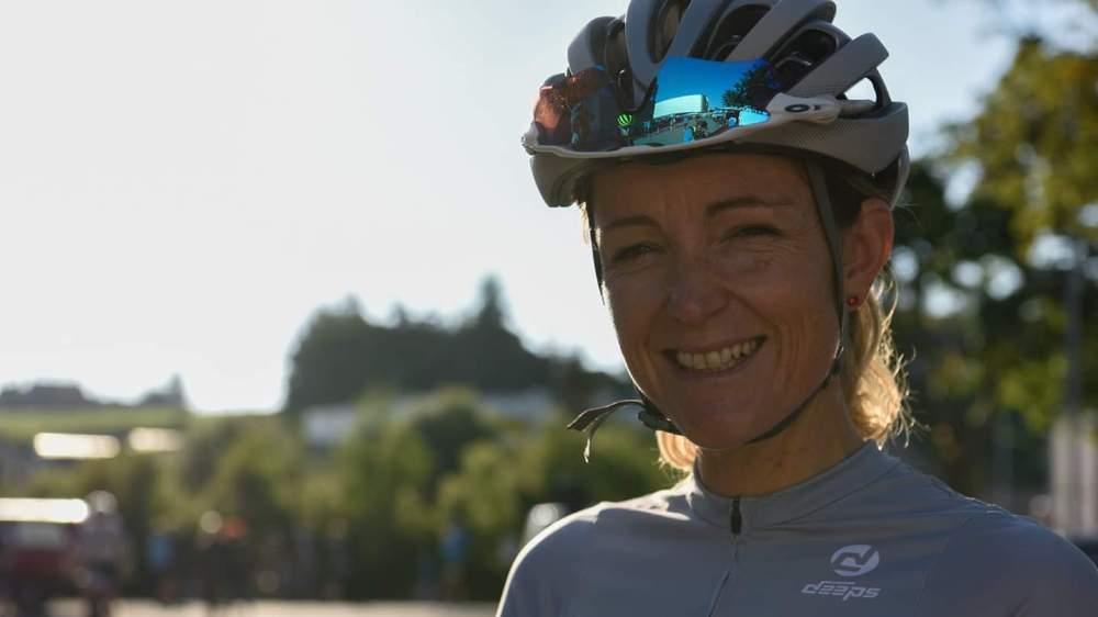 Caroline Faiss, gérante Ciclissimo Valais.