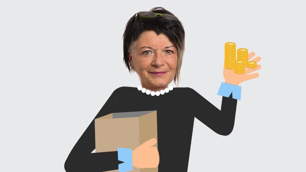 Jacqueline Fontannaz Richard, présidente de la FRC Valais.