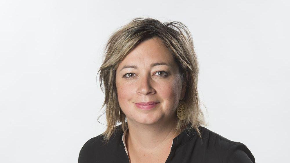 Stéphanie Germanier, journaliste.