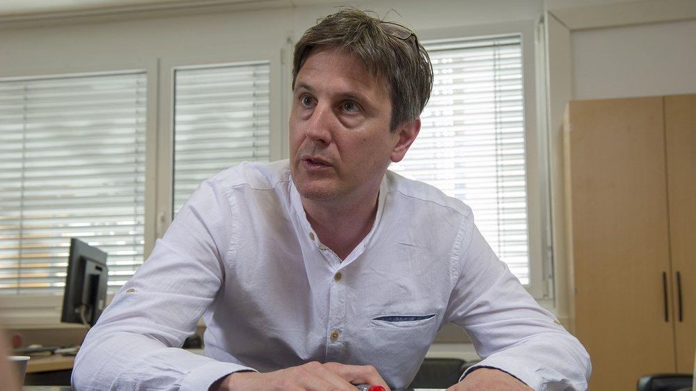 Vincent Pellissier, chef du service de la mobilité. Sacha Bittel / Le Nouvelliste