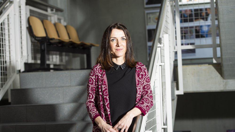 Sandra Schneider, responsable du Bureau des échanges linguistiques.