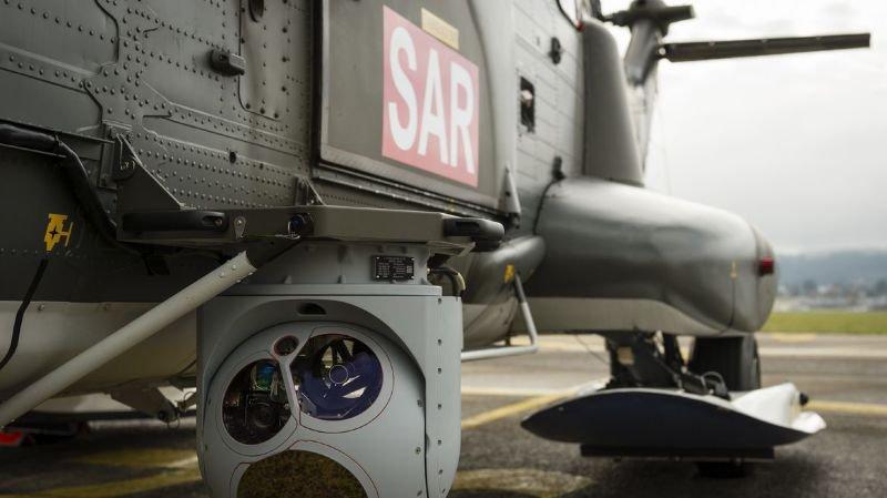 La caméra thermique de l'hélicoptère a localisé la randonneuse.