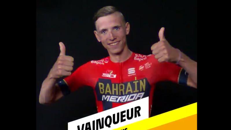 Cyclisme - Tour de France: Teuns gagne la 6e étape, Ciccone nouveau maillot jaune