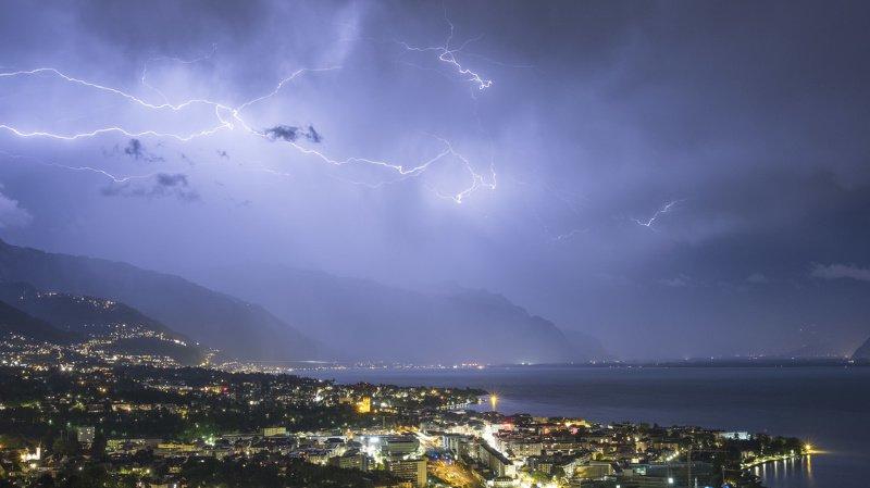 Météo: de violents orages vont frapper la Suisse romande ce week-end