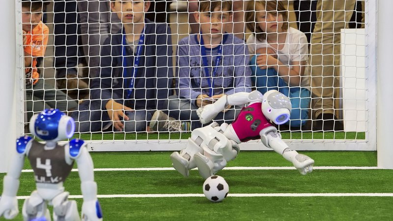 Chaque équipe peut compter sur un gardien et ses réflexes plus ou moins développés selon ses créateurs.