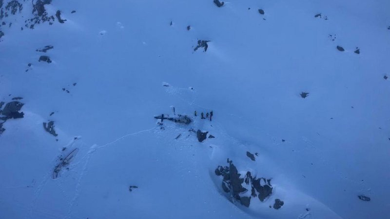 L'accident s'est produit le 25 janvier au-dessus du glacier du Rutor (Italie), près de la frontière française. (Archives)