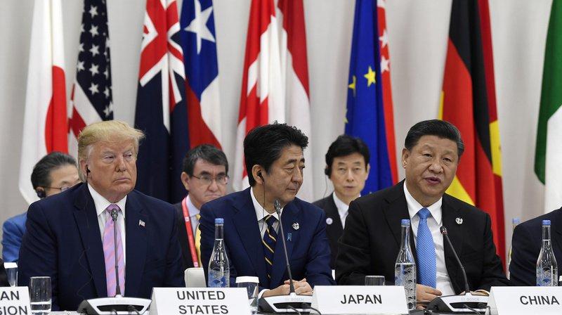 G20: les Etats-Unis et la Chine d'accord pour relancer les négociations commerciales