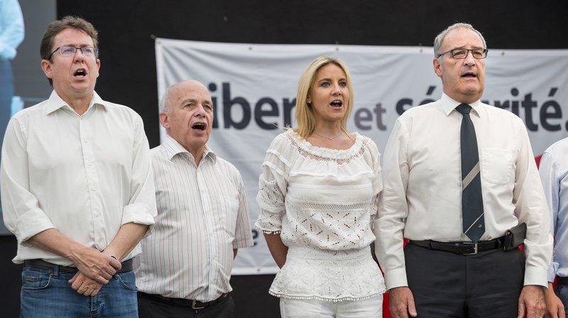 """Fédérales 2019: la gauche """"use et abuse des thèmes écologistes"""", selon les leaders de l'UDC"""
