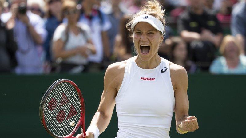 Tennis – Wimbledon: Golubic se qualifie pour les 16es de finale, une première en Grand Chelem