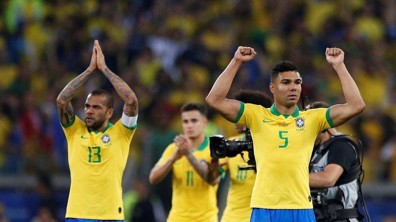 Football - Copa America: le Brésil élimine l'Argentine et se qualifie en finale