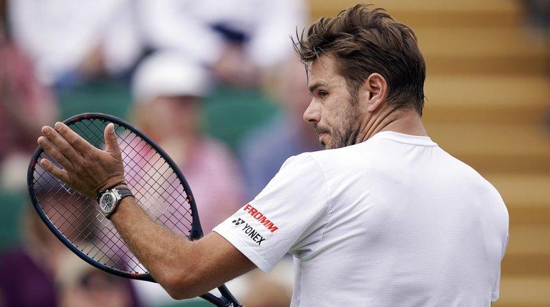 Tennis – Wimbledon: Wawrinka sorti au deuxième tour, le Vaudois n'a pas passé l'obstacle Opelka