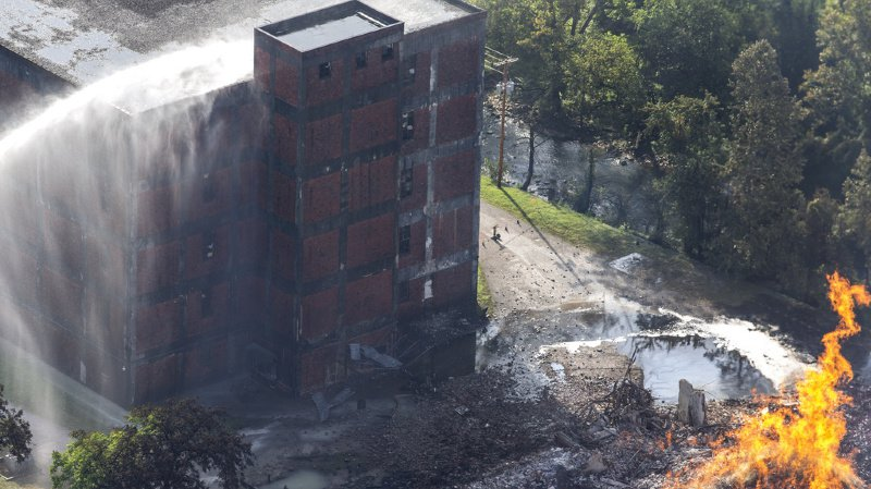 Etats-Unis: 45'000 tonneaux de bourbon détruits dans un incendie