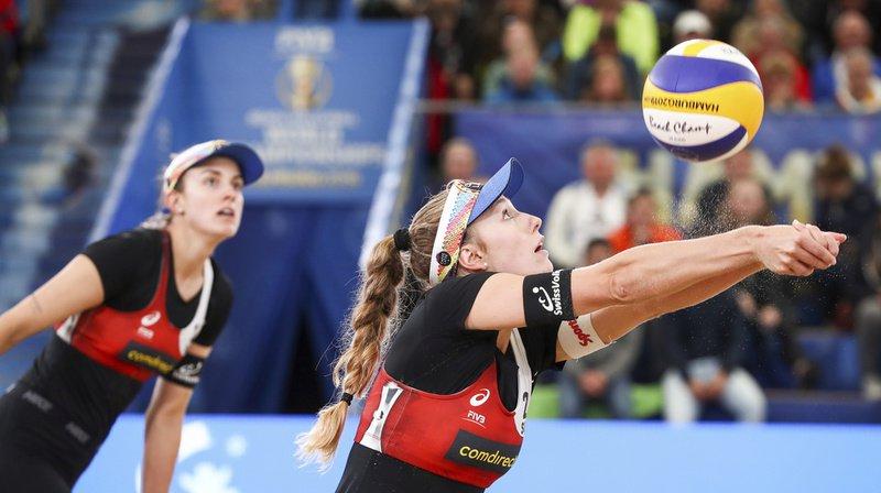 Nina Betschart, à gauche, et Tanja Hueberli se battront demain pour décrocher le bronze.