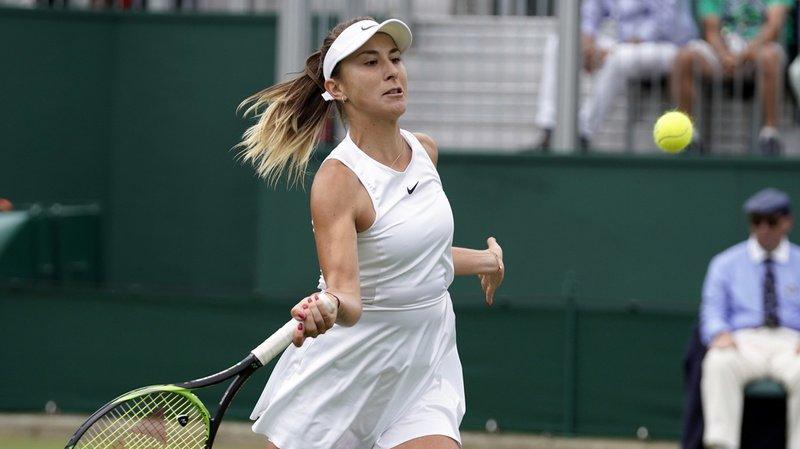 Tennis – Wimbledon: Bencic passe à côté de son match et se fait sortir du tournoi