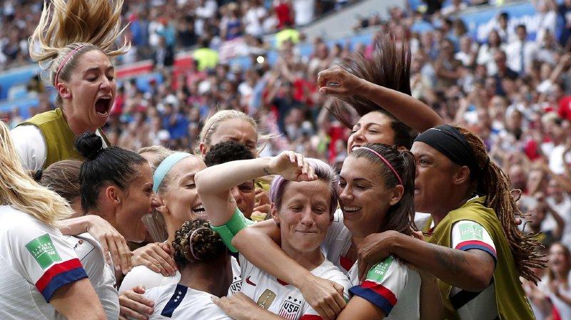 Tenantes du titre, les Américaines ont fait la différence en deuxième mi-temps, après avoir déjà dominé les débats en première période mais sans parvenir à forcer le verrou batave.