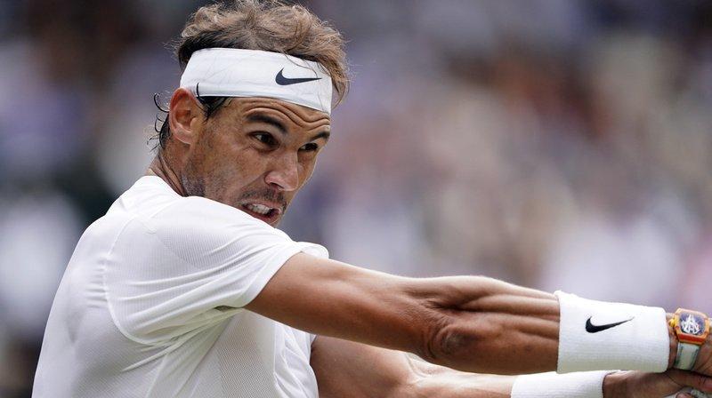 Rafael Nadal a remporté le premier set contre João Sousa en seulement 29 minutes.