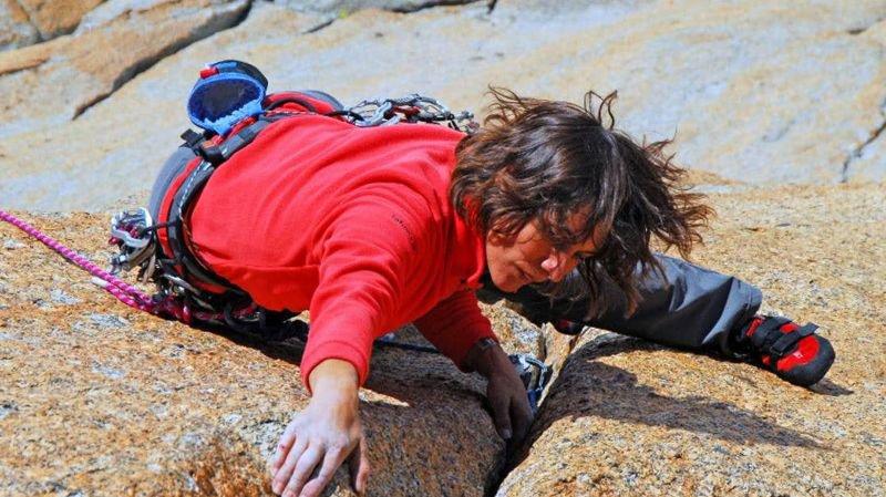 Après la roche, Catherine Destivelle gratte le papier. Elle est l'invitée de la 14e Rencontre internationale du livre de montagne d'Arolla.