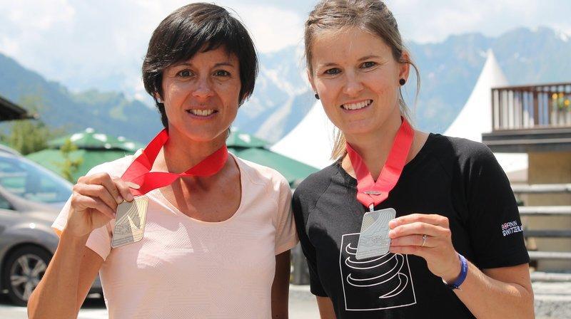 Trail: Virginie Clivaz et Sara Escobar Carron sur le podium à Verbier