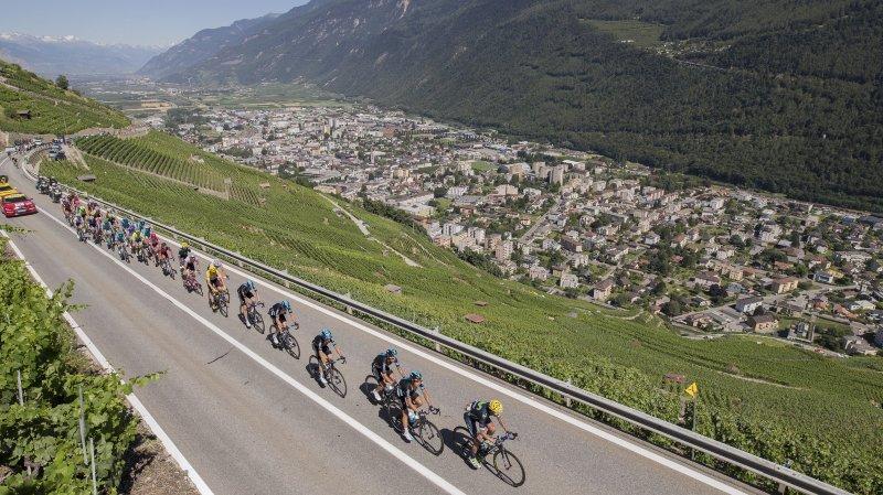 Cyclisme: le Valais étudie l'idée d'accueillir le Grand Départ du Tour de France
