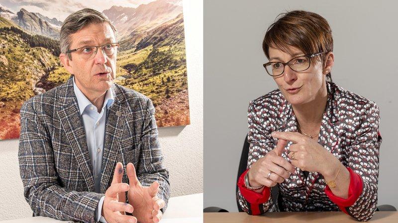 L'interview croisée qui franchit la Raspille: Damian Constantin et Karin Perraudin