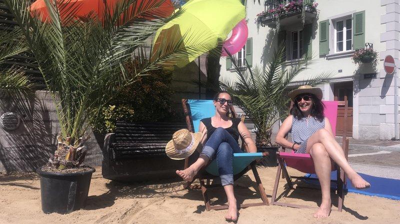 Palmiers, transats, petites plages de sable fin, parasols et bonne humeur: Saint-Maurice se met en mode balnéaire et décontracté dès ce vendredi soir.