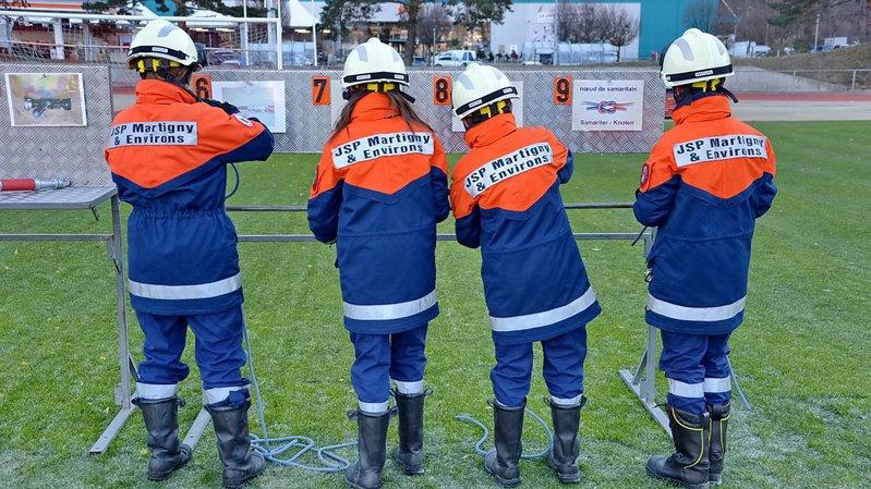 Les jeunes sapeurs-pompiers de Martigny et environs se préparent pour leurs championnats du monde.