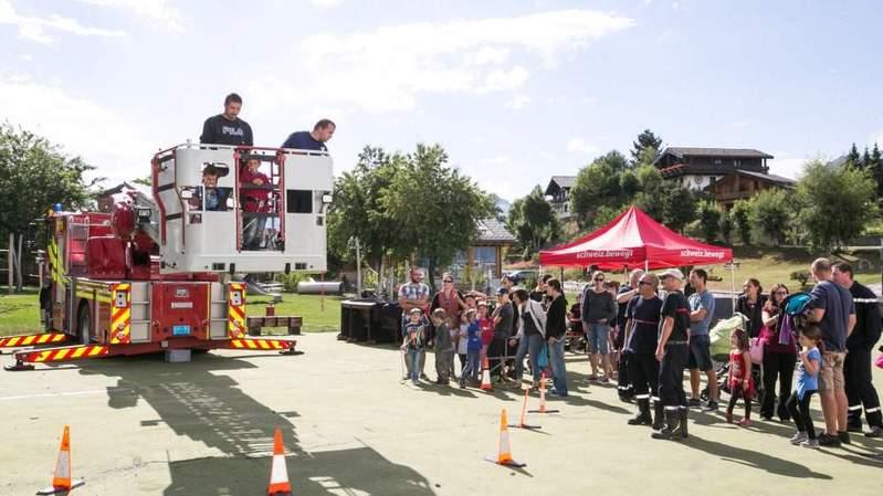 Dimanche à NendaZ'amuse, les pompiers présenteront leur travail et animeront un atelier.