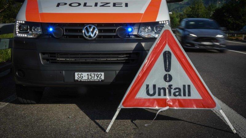 Saint-Gall: un homme de 26 ans tué sur la bande d'arrêt d'urgence