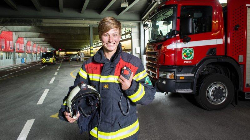 Tunnel du Grand-Saint-Bernard: à 23 ans, elle s'engage contre les flammes