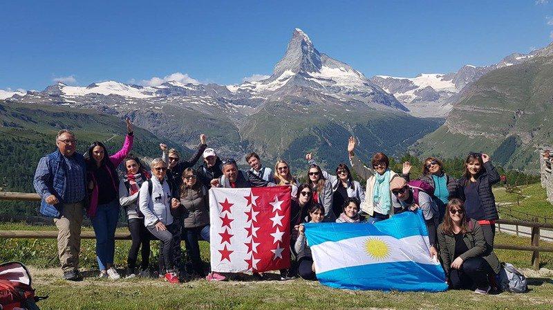 Des Zermathen argentins découvrent Zermatt