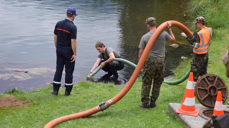 Pollution du lac de Morgins: l'armée n'avait pas le droit de s'exercer dans la zone