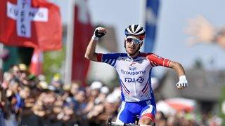Le maillot de champion suisse reste en Valais grâce à Sébastien Reichenbach