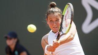 Une défaite malheureuse pour la Valaisanne Ylena In-Albon au Ladies Open de Lausanne