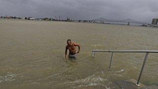 Etats-Unis: la tempête Barry traverse la Louisiane, La Nouvelle-Orléans respire