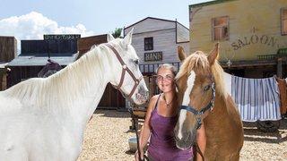 Le Bouveret: ces chevaux qui jouent avec les Dalton