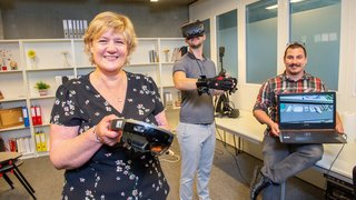 Valais: des chercheurs étudient et développent des solutions pour mieux se former grâce à la réalité virtuelle