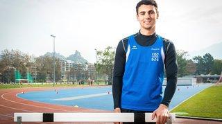 Athlétisme: Julien Bonvin n'a pas franchi le «cut» en Suède