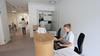 Vissoie: le nouveau centre médical accueille ses premiers patients