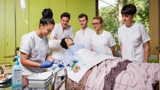 Formation en soins infirmiers ES: première rentrée programmée en 2020 pour l'école supérieure de Monthey