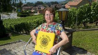 Rolande est valaisanne, elle a 83 ans, et bientôt 4 Fêtes des Vignerons dans les mirettes et dans les jambes